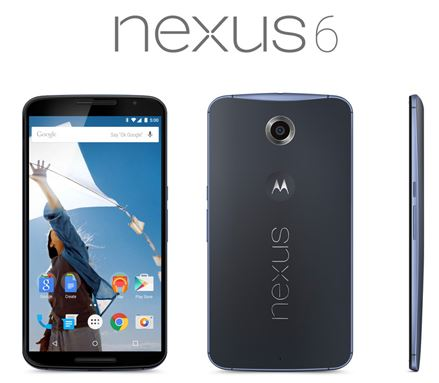 ワイモバイルが、Android 5.0(Lollipop)搭載のスマートフォン「Nexus 6」を12月11日より発売すると発表