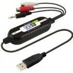 プリンストンが、アナログ音楽をデジタル化できる USBオーディオキャプチャーユニット「デジ造音楽版 匠」を2月20日に発売。