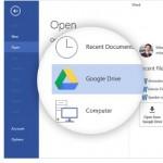 Googleが、「Microsoft Office」から「Google ドライブ 」へ保存できるアドイン「Google ドライブ プラグイン for Microsoft Office」を無償公開