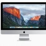 Appleが、新型の「iMac」を3種類、6モデルを発表