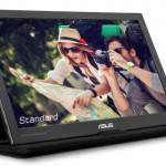 ASUSが、15.6型モバイル液晶ディスプレイ「MB169C+」を発表