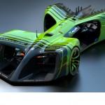 電気自動車レースを行なうフォーミュラEが、新たに自動運転電気自動車のチャンピオンシップ「Roborace」の開催を発表