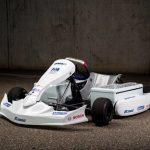 ボッシュとFIAが、共同開発した電動レーシングカート(E-Karts)を発表