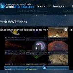 Microsoft社の天体観測できる「WorldWide Telescope」について