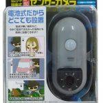 【商品紹介】リーベックスが、最大32GBのmicroSDHCに自動録画できる「microSD録画式センサーカメラ」を発売