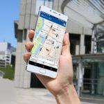 タクシー会社の国際自動車(km)が、世界初!スマホを振るだけで、空車タクシーが集まってくる アプリ「フルクル」を11月より提供開始すると発表