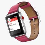 「Apple Watch Series 3」のGPS+Cellularモデルでは、今のところ、MVNOでは利用できず。。。。残念です。