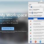Microsoftが、Macos用のOffice 365ユーザー向けにツールバーアプリ「My Workspace」をリリース