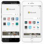 Microsoft が、「Windows 10」の標準ブラウザ「Microsoft Edge」のiOS/Android版をリリース