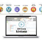 「サイボーズ」のWEBを利用した業務アプリが作れる、使える「kintone」について
