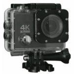 ドン・キホーテが、6980円(税別)のアクションカメラ「アクティブギア コンパクト防水4K ULTRAHD カメラ」を7月4日に発売すると発表