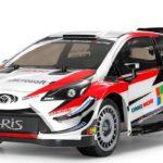 タミヤが、YARiS(ヤリス)WRCの電動RCカーを9月1日に発売 シャーシはシャフト4WDのTT-02を採用。 価格は12,960円。
