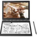 レノボが、キーボード面にE-inkディスプレイを採用した10.8型2in1「Yoga Book C930」(Windows)を発表しました。