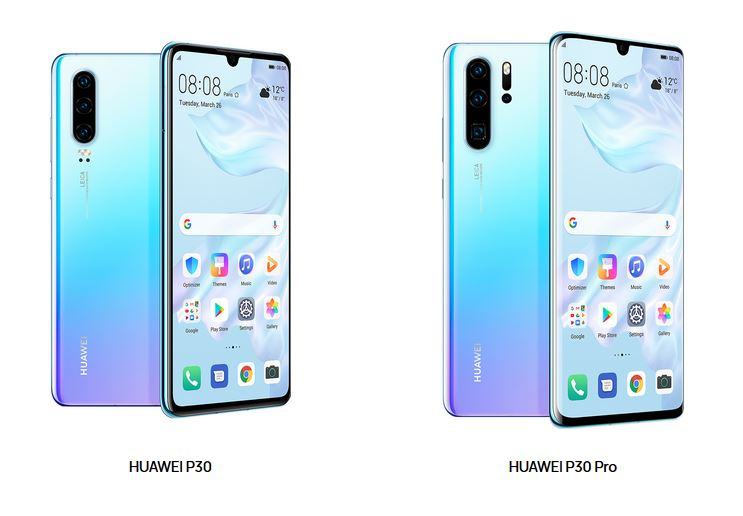 Huawei 「P30」シリーズ2モデル