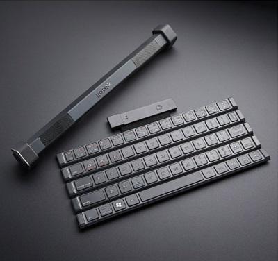 スピーカー内蔵型ワイヤレスキーボード「Gotype」