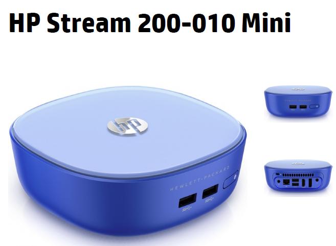 HPが、手のひらサイズのWindowsデスクトップ「Stream Mini Desktop」と「Pavilion Mini Desktop」を発表