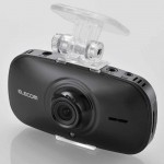 エレコムが、Wi-Fiでスマホから映像を確認できるドライブレコーダー「LVR-SD310HWG」ほか2種類を発表しました。