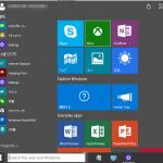 Windows 10のスタートメニューをWindows 7風にする改良する方法とタスクバーの「検索欄」を非表示にする方法です。