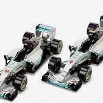 セイコーエプソンが、オフィシャルスポンサーの「メルセデス」チームのF1マシン「W06 Hybrid」をモデルとしたペーパークラフトを制作し提供することを発表