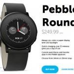 米「Pebble」社が、初の丸型スマートウォッチ「Pebble Time Round」を発表