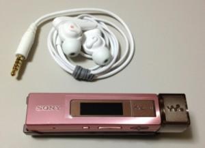 SONYの小型ウォークマン「NW-M505」