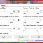 タスクバーの「サムネイル」をカスタマイズできる便利なツール「Taskbar Thumbnails Tuner」