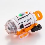 シー・シー・ピーが、赤外線コントローラで操縦して水中で動・静止画撮影ができる小型の潜水艦「サブマリナーカメラ」を4月28日に発売
