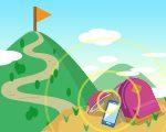 NTTドコモが、同社のサイト上に「通信エリア状況を表示した登山道マップ」の提供を開始