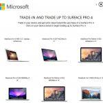 Microsoft社が、「Surface」を買うなら、「Macbook」を下取りするキャンペーンを開始しています