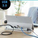 【商品紹介】サンワサプライが、Surface用ドッキングステーション(HDMI出力・USB3.0ハブ3ポート・有線LAN)を発売しました。