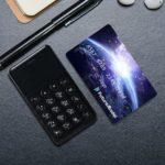 【商品紹介】 電話とテザリングしか出来ない、カードサイズの「NichePhone-S(ニッチフォン-S)」良いなこれ!。