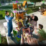 Microsoft社が、Minecraft公開10周年を記念した完全新作のモバイルARゲーム『Minecraft Earth(マインクラフト アース)』を発表
