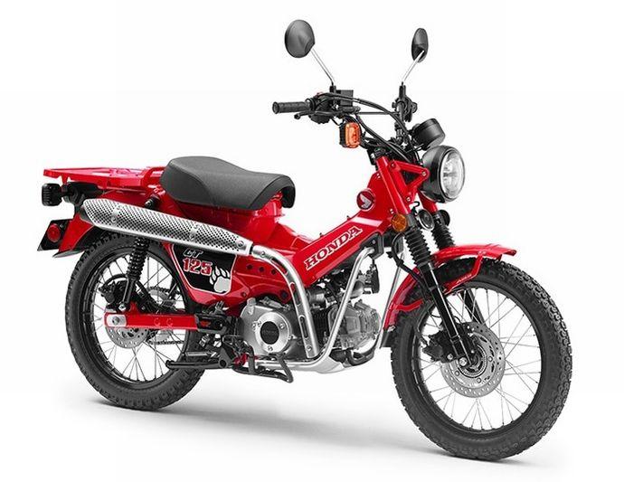 トレッキングバイク「CT125」