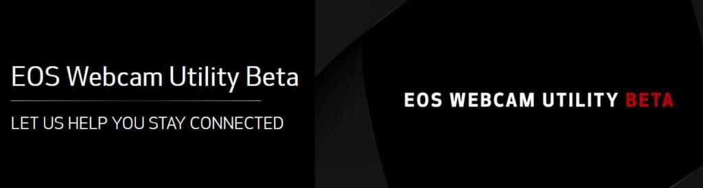 EOS Webcam Utility Beta